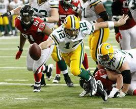 Packers vs Falcons NFC Championship