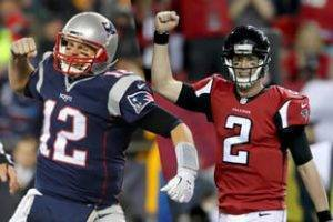 Patriots vs Falcons Super Bowl