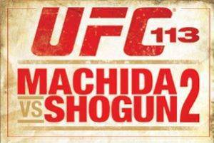 UFC 113 Machida vs Shogun Rematch