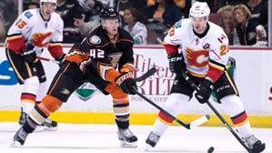 Anaheim Ducks vs Calgary Flames