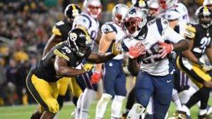 Patriots vs Steelers AFC Championship