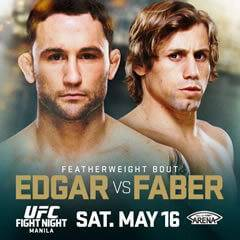 Edgar vs Faber UFC Fight Night