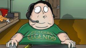 south park fat guy playing world of war craft