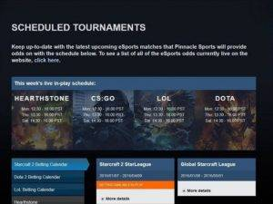 pinnacle-sports-esports-scheducled-tournaments